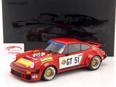 Porsche 934 #GT51 2º 300km Nürburgring 1976 Toine Hezemans 1:12 Minichamps