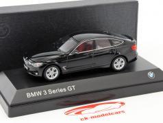 BMW 3er GT (F34) year 2013 black 1:43 iScale