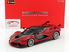 Ferrari FXX-K #88 red / black 1:18 Bburago Signature