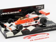 B. Giacomelli McLaren Ford M26 Britânico GP 1978 1:43 Minichamps
