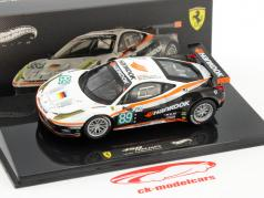 Ferrari 458 Italia GT2 #89 Le Mans 24h 2011 Equipe Farnbacher 1:43 HotWheels Elite