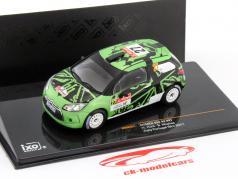 Citroen DS3 R3 #27 Ралли Португалия WRC 2011 Hunt / Mcphee 1:43 Ixo