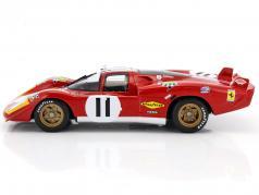 Ferrari 512S #11 4. 24h LeMans 1970 Bucknum, Posey 1:18 CMR