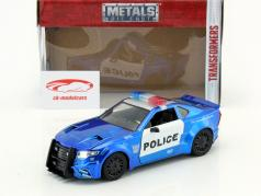 Barricade Police Car year 2016 Movie Transformers 5 blue / White 1:24 Jada Toys