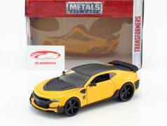 Chevrolet Camaro Bumblebee Baujahr 2016 Film Transformers 5 gelb / schwarz 1:24 Jada Toys