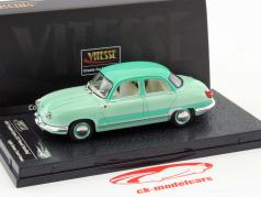 Panhard Dyna Z12 Grand Standing año de construcción 1957 verde 1:43 Vitesse