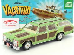 Wagon Queen Family Truckster ano de construção 1979 filme National Lampoon's Vacation 1983 verde 1:18 Greenlight