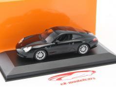 Porsche 911 Carrera Coupe Baujahr 2001 schwarz 1:43 Minichamps