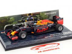 Daniel Ricciardo Red Bull RB12 #3 Halo Test Free Practice Belgique GP formule 1 2016 1:43 Minichamps