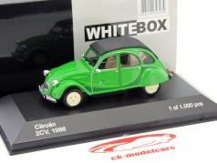 Citroen 2CV Baujahr 1986 grün 1:43 WhiteBox