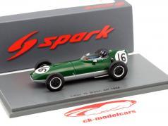 Graham Hill Lotus 16 #16 Storbritannien GP formel 1 1958 1:43 Spark