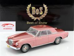 Studebaker Gran Turismo Hawk Baujahr 1963 rosa metallic 1:18 BoS-Models