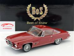 Chrysler Dual Ghia L 6.4 Coupe Baujahr 1960 dunkel rot metallic 1:18 BoS-Models