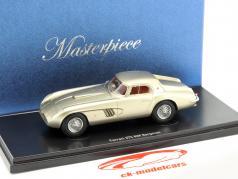 Ferrari 375 MM Bergmann silver metallic 1:43 AutoCult