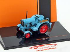 Eicher ED25II traktor Opførselsår 1951 blå 1:43 Ixo