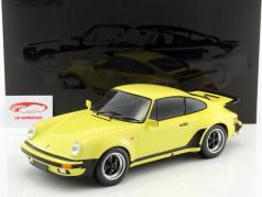 Porsche 911 (930) Turbo ano de construção 1977 luz amarelo 1:12 Minichamps