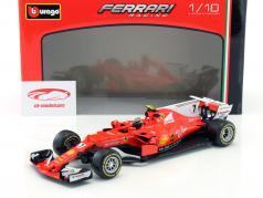 Kimi Räikkönen Ferrari SF70H #7 formula 1 2017 1:18 Bburago
