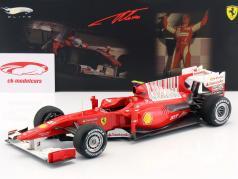 Fernando Alonso Ferrari F10 di Formula 1 2010 1:18 HW Elite
