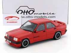 Mercedes-Benz 190E 3.6 S Brabus year 1989 red 1:18 OttOmobile