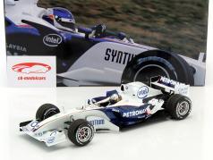 S. Vettel BMW Sauber C24B BMW mundo finales Valencia fórmula 1 2006 1:18 Minichamps