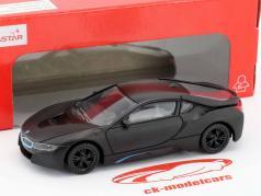 BMW i8 year 2015 mat black 1:43 Rastar