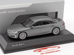 Audi A8 L monsun grigio 1:43 iScale