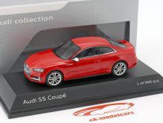 Audi S5 Coupe Baujahr 2016 misano rot 1:43 Paragon Models