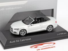 Audi S5 Cabriolet Baujahr 2016 tofana weiß 1:43 Paragon Models