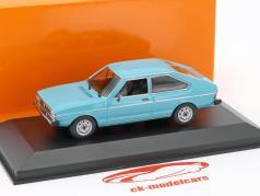 Volkswagen VW Passat Opførselsår 1975 blå 1:43 Minichamps