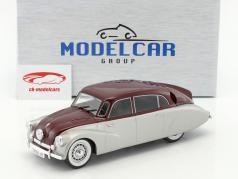 Tatra 87 silber / dunkelrot 1:18 Model Car Group