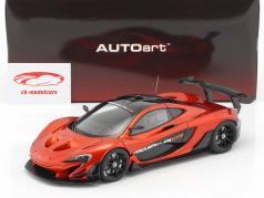 McLaren P1 GTR Opførselsår 2015 vulkan appelsin 1:18 AUTOart