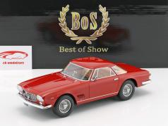 Maserati 5000 GT Allemano année 1960 rouge 1:18 BoS-Models