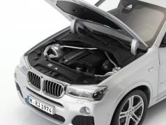 BMW X4 XDRIVE (F26) Год постройки 2014 серебро 1:18 Paragon Models