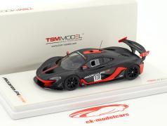 McLaren P1 GTR #13 cinza escuro / laranja 1:43 TrueScale