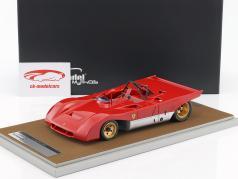 Ferrari 312PB imprensa versão 1971 vermelho 1:18 Tecnomodel