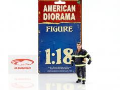 bombeiro figura I Fire Chief 1:18 American Diorama