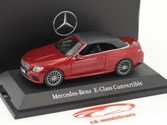 Mercedes-Benz E-Klasse Cabriolet A238 hyacinth red metallic 1:43 iScale