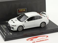 Mitsubishi Lancer Evolution X año de construcción 2012 blanco metálico 1:43 Vitesse