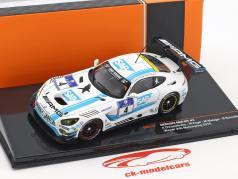 Mercedes-Benz AMG GT3 équipe Black Falcon #4 gagnant 24h Nürburgring 2016 1:43 Ixo