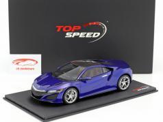Acura NSX LHD azul 1:18 True Scale