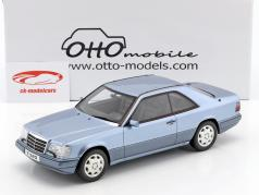 Mercedes-Benz E320 (C124) Coupe year 1986 blue 1:18 OttOmobile