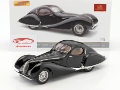 Talbot Lago coupé T150 C-SS Teardrop Figoni & Falaschi année de construction 1937-1939 noir 1:18 CMC
