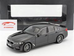 BMW 5 Series (G30) berline année de construction 2017 sophisto gris 1:18 Kyosho