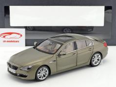 BMW 650i GT 6-Series Gran Coupe bronzen metalen 1:18 ParagonModels