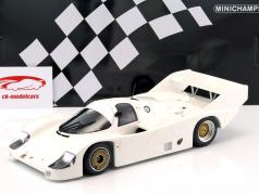 Porsche 956K Plain Body Version Bouwjaar 1982 wit 1:18 Minichamps