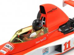 James Hunt McLaren M23 #11 2º África do Sul GP Campeão do mundo F1 1976 1:18 Minichamps