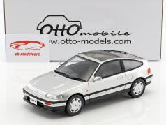 Honda CR-X MK II ano de construção 1988 prata metálico 1:18 OttOmobile