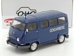 Renault Estafette gendarmerie ano de construção 1973 azul 1:18 OttOmobile