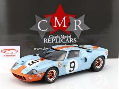 Ford GT 40 MK I Gulf #9 勝者 24h LeMans 1968 Rodriguez, Bianchi 1:12 CMR