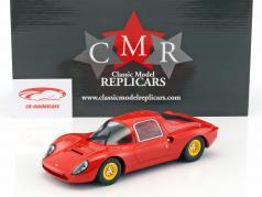 Ferrari Dino 206 S Plain Body Version ano 1966 vermelho 1:18 CMR